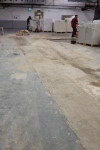 Diamond track sawing