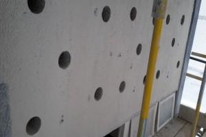 Concrete Bursting - panel holes