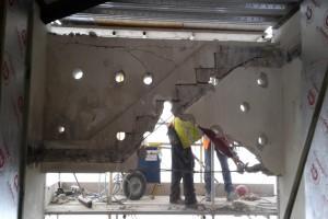 concrete Bursting - work in progress