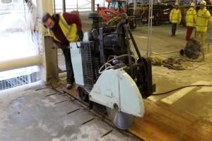 Floor Sawing