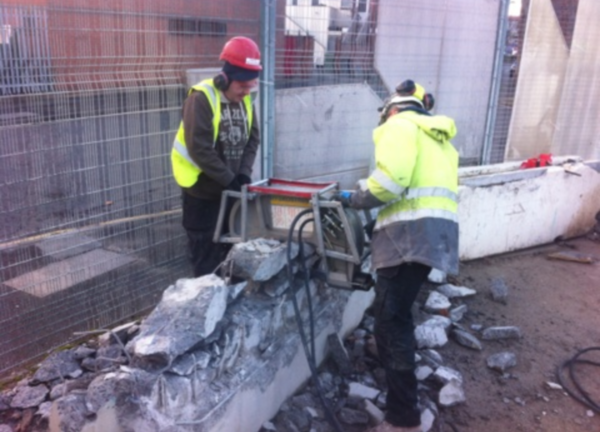 Concrete Crunching by Drill Masters Ltd