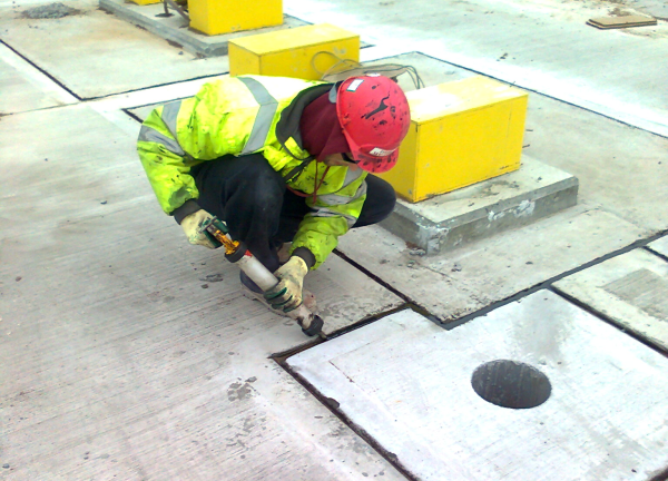 Joint Sealing by Drill Masters, East Anglia specialists