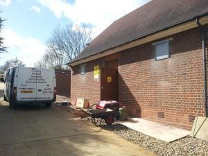 Concrete Cutting Enfield Van