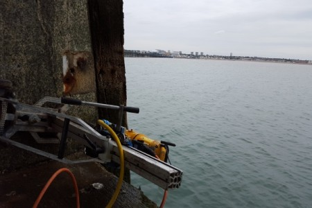 Diamond Drilling Southend Pier