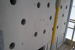 Concrete Bursting - panel holes