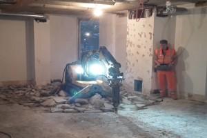 Remote controlled demolition